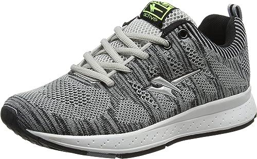 Gola Zenith, Zapatillas de Running para Mujer, Gris (Grey/Black/Black), 39 EU: Amazon.es: Zapatos y complementos