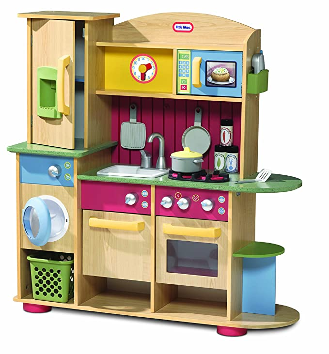 Little Tikes 618697E5C - Premium Holz Küche: Amazon.de: Spielzeug