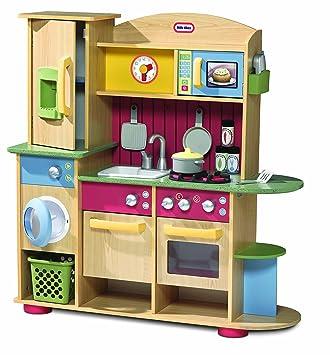 Little Tikes Cooking Creations Premium Kitchen: Amazon.co.uk: Toys ...