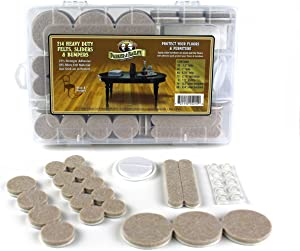 214 Pc. Heavy Duty Felts, Sliders & Bumpers, Premium Whole Home Furniture Protection Kit to Protect Floors