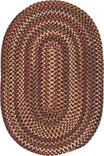 product image for Colonial Mills Cedar Cove Area Rug, 5x7, Rust