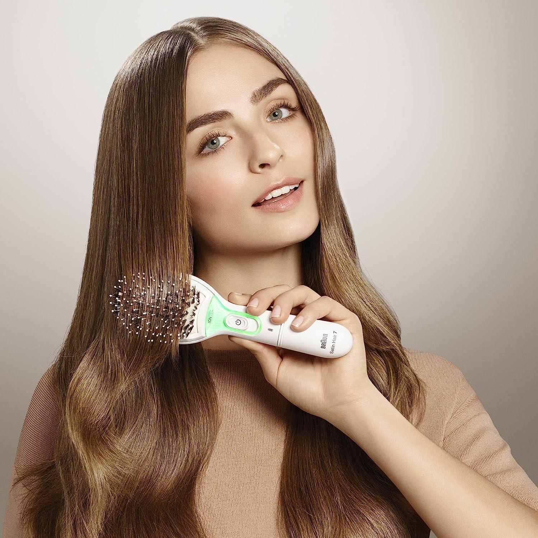 Braun Cepillo Alisador Satin Hair 7 BR750 2 En 1