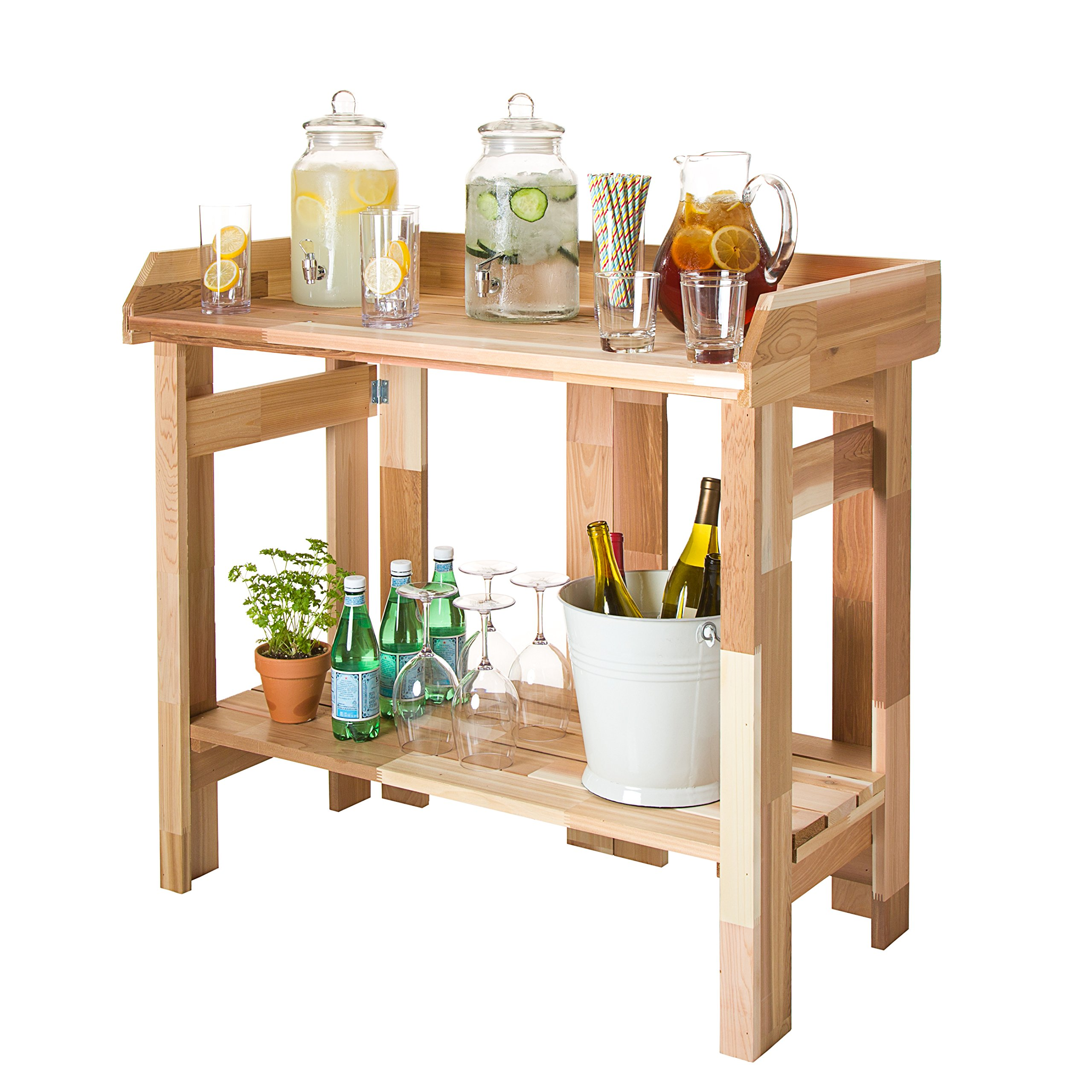 CedarCraft Folding Potting Bench & Event Table by CedarCraft (Image #2)