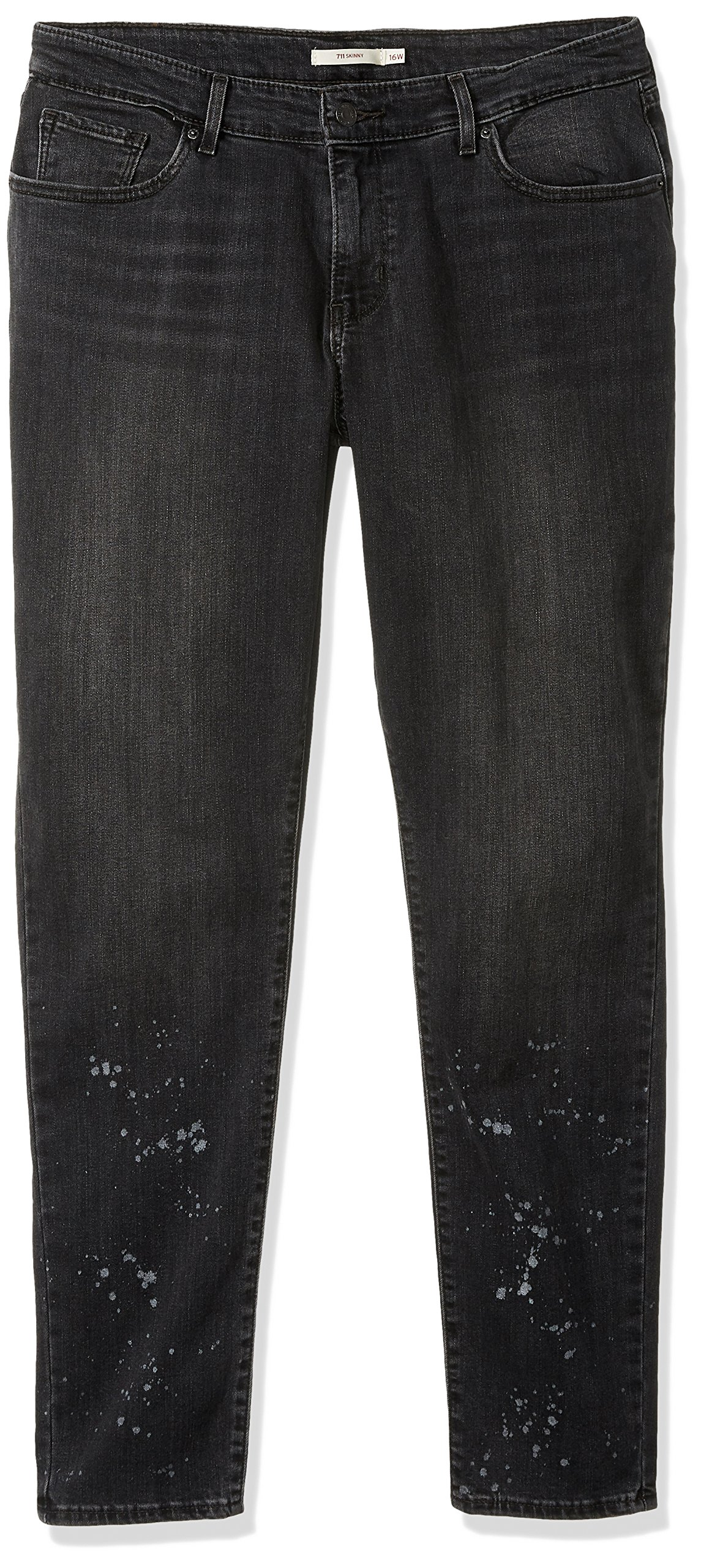 Levi's Women's 711 Skinny Jeans, on The Run, 36 (US 16) R