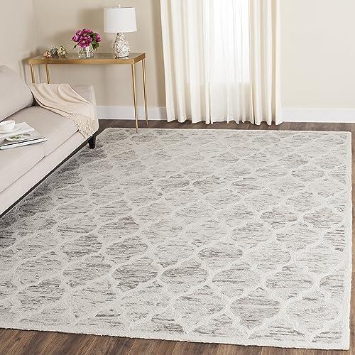 Safavieh Himalaya Collection HIM121A Handmade Premium Wool Area Rug