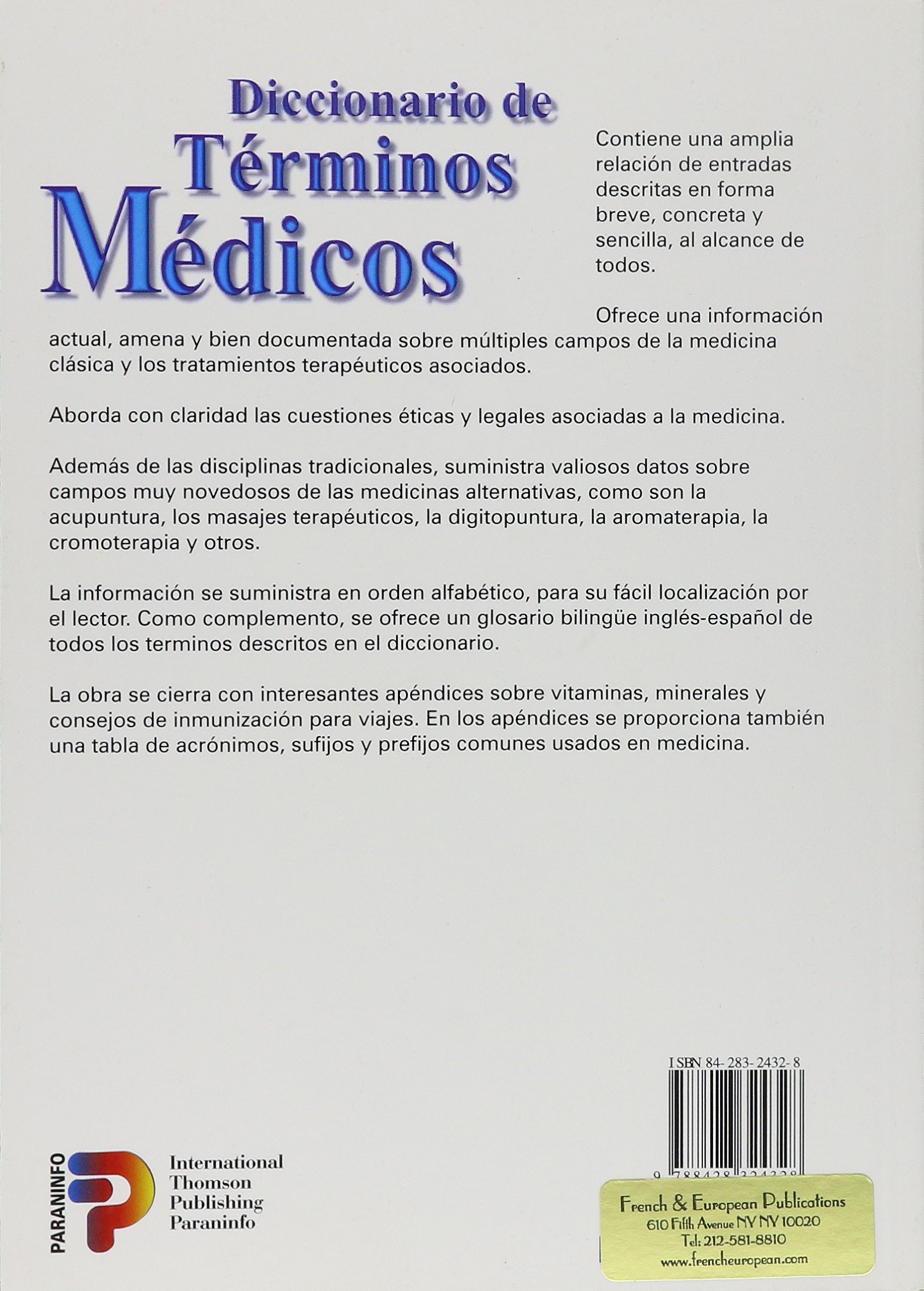 Diccionario de terminos medicos español-ingles: Amazon.es: Helicon Publishing Ltd: Libros