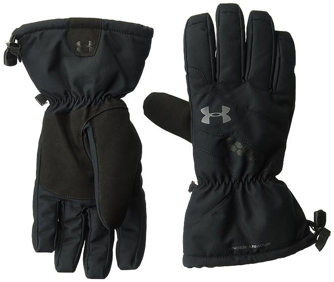 eb62c9a2643ff Under Armour Men's UA Mountain Glove, Black (001)/Graphite, Small/