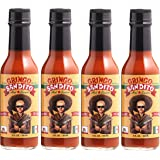 Gringo Bandito Hot Sauce, Original Red, 5 Ounce (Pack of 4)