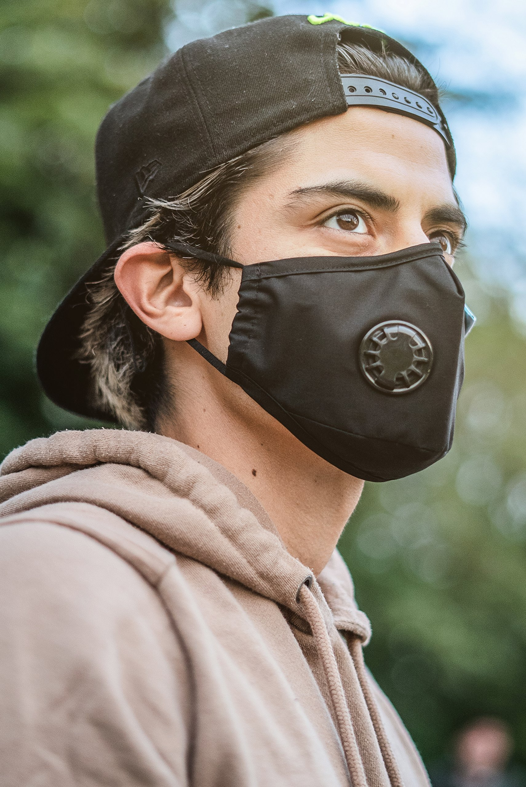 Easy Breathe Pollution Mask Ultra Soft Cotton Adjustable & Reusable With Four N99 Mask Replacement Filters | Anti Pollution N99 Filter Respirator Mouth & Face Mask For Men & Women by Keklle (Image #5)