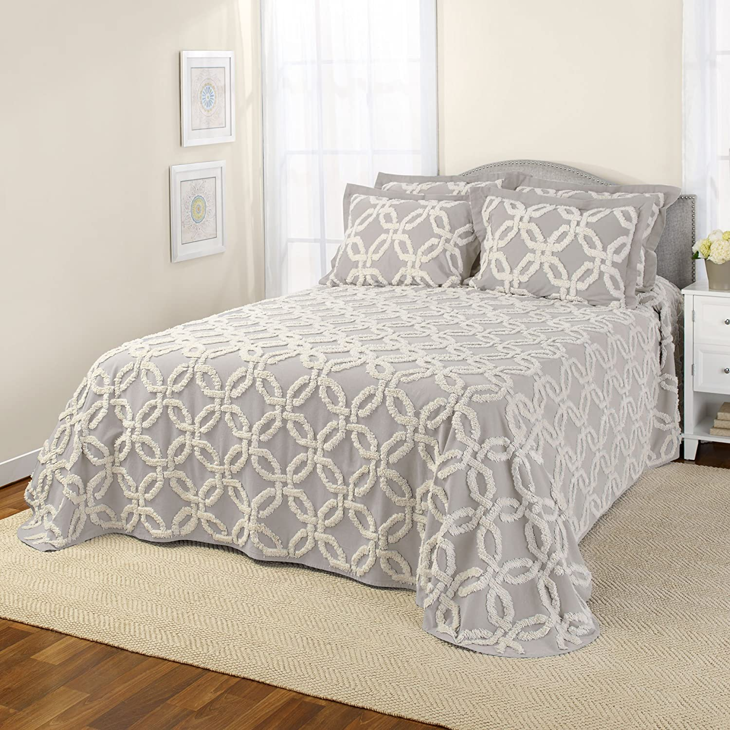 Harbor, Stylemaster Home Products STYLEMASTER Holden Chenille Bedspread Twin