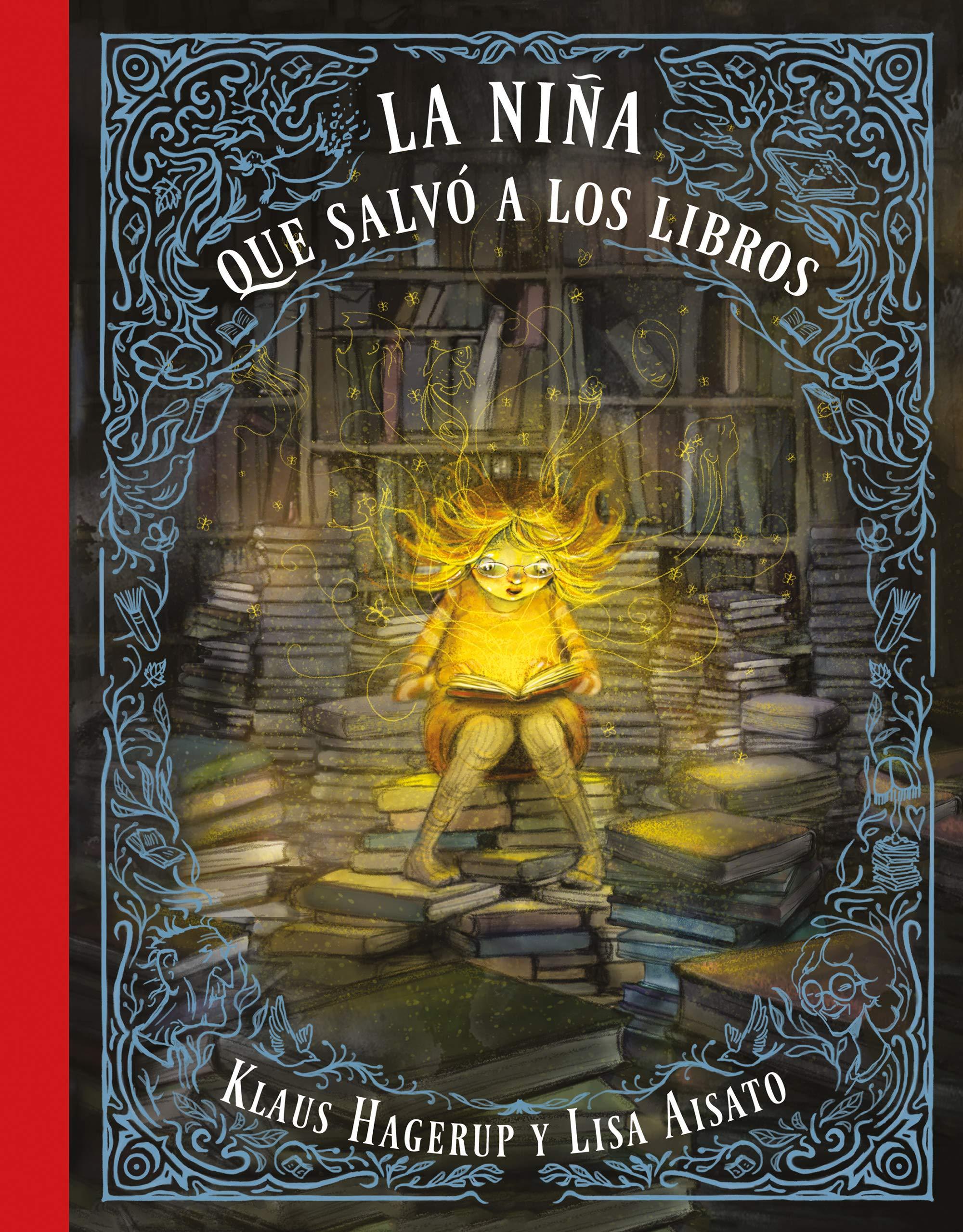 La niña que salvó a los libros (B Plus): Amazon.es: Lisa Aisato, Klaus  Hagerup: Libros