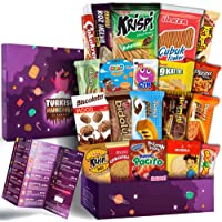 Maxi Premium International Snacks Variety Pack Care Package, Ultimate Assortment of Turkish Treats, Mix variety pack of snacks, Best Foreign Candy or Foreign Snacks Box
