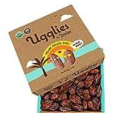 "Joolies Organic Whole Medjool Dates   ""Ugglies"" 4.4 Pound Bulk Box   Fresh California Grown Fruit   Vegan, Gluten-Free, Paleo"