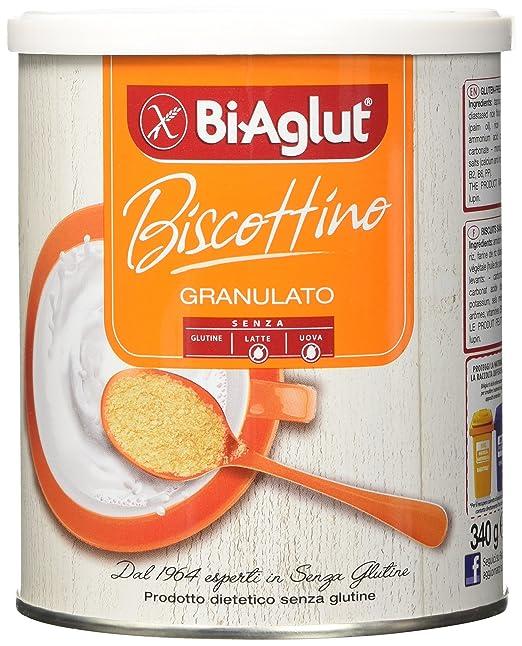 3 opinioni per Biaglut Biscottino Granulato- 340 gr
