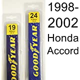 Honda Accord (1998-2002) Wiper Blade Kit - Set Includes 24