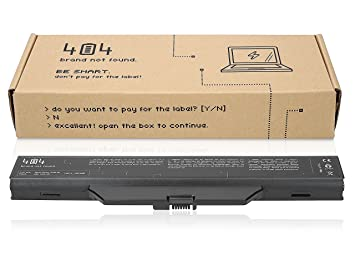 Wessper 404Brand Batería del Ordenador portátil para HP 550 (10.8V, 4400 mAh, Negro, 6 Celdas): Amazon.es: Electrónica