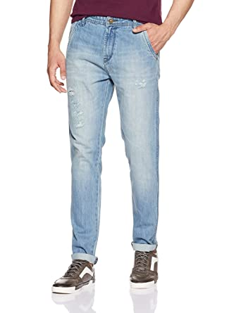 Cherokee by Unlimited Men's Tapered Fit Jeans Men's Jeans at amazon