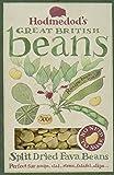 Hodmedod's Great British Beans Split Dried Fava Beans 500 g (Pack of 4)
