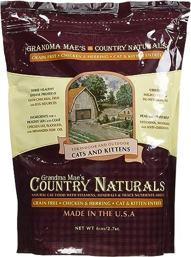 Grandma Mae S 79700152 6 Lb Country Naturals Grain Free Cat, One Size