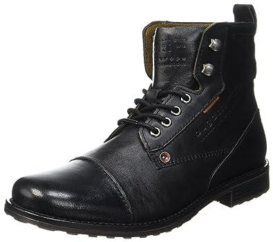 Mens 321336301069 Classic Boots, Braun (Cognac/Green 6370) Bugatti