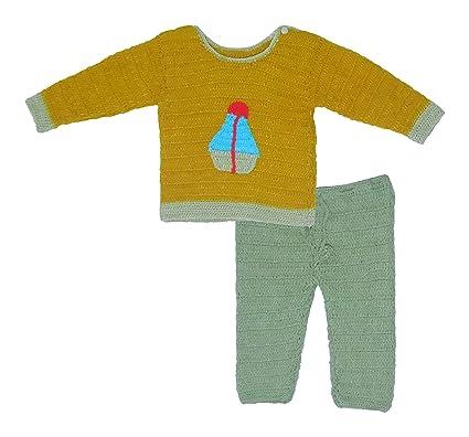 Sr Handicrafts Baby Boys Wool Sweater Bottom Sh020 6 12 Months