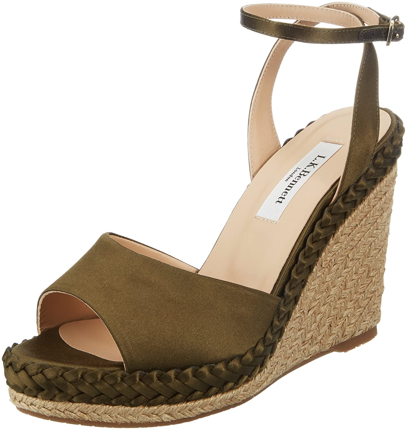 LK Daisie, BENNETT 308) Daisie, Sandales Bout Ouvert Ouvert Femme Vert (Khaki 308) b53760a - therethere.space