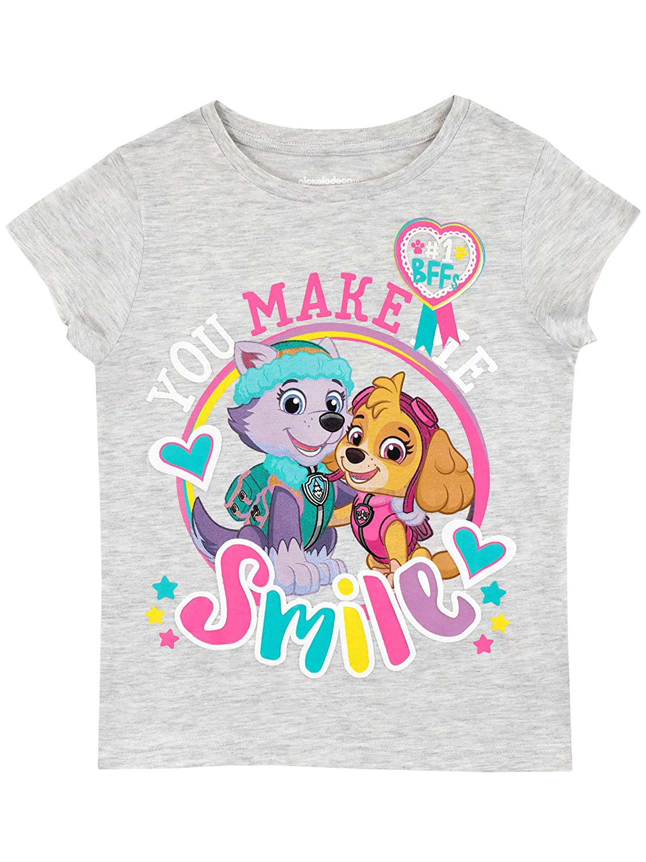 Paw Patrol Girls Skye and Everest T-Shirt