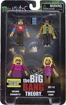 Minimates The Big Bang Theory Minimates Minifigure 4-Pack [Set #2]