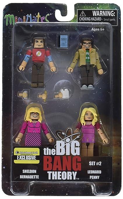 Minimates The Big Bang Theory Minimates Minifigure 4-Pack ...