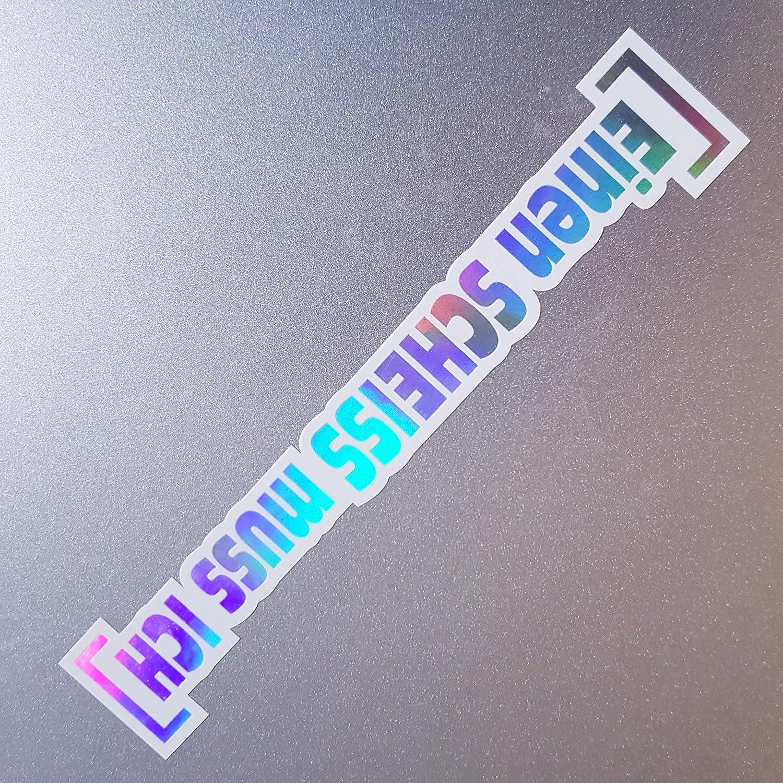 Folien Zentrum Einen Scheiss Muss Ich Weiß Hologramm Oilslick Rainbow Flip Flop Aufkleber Metallic Effekt Shocker Auto Jdm Tuning Oem Dub Decal Sticker Illest Dapper Oldschool Auto