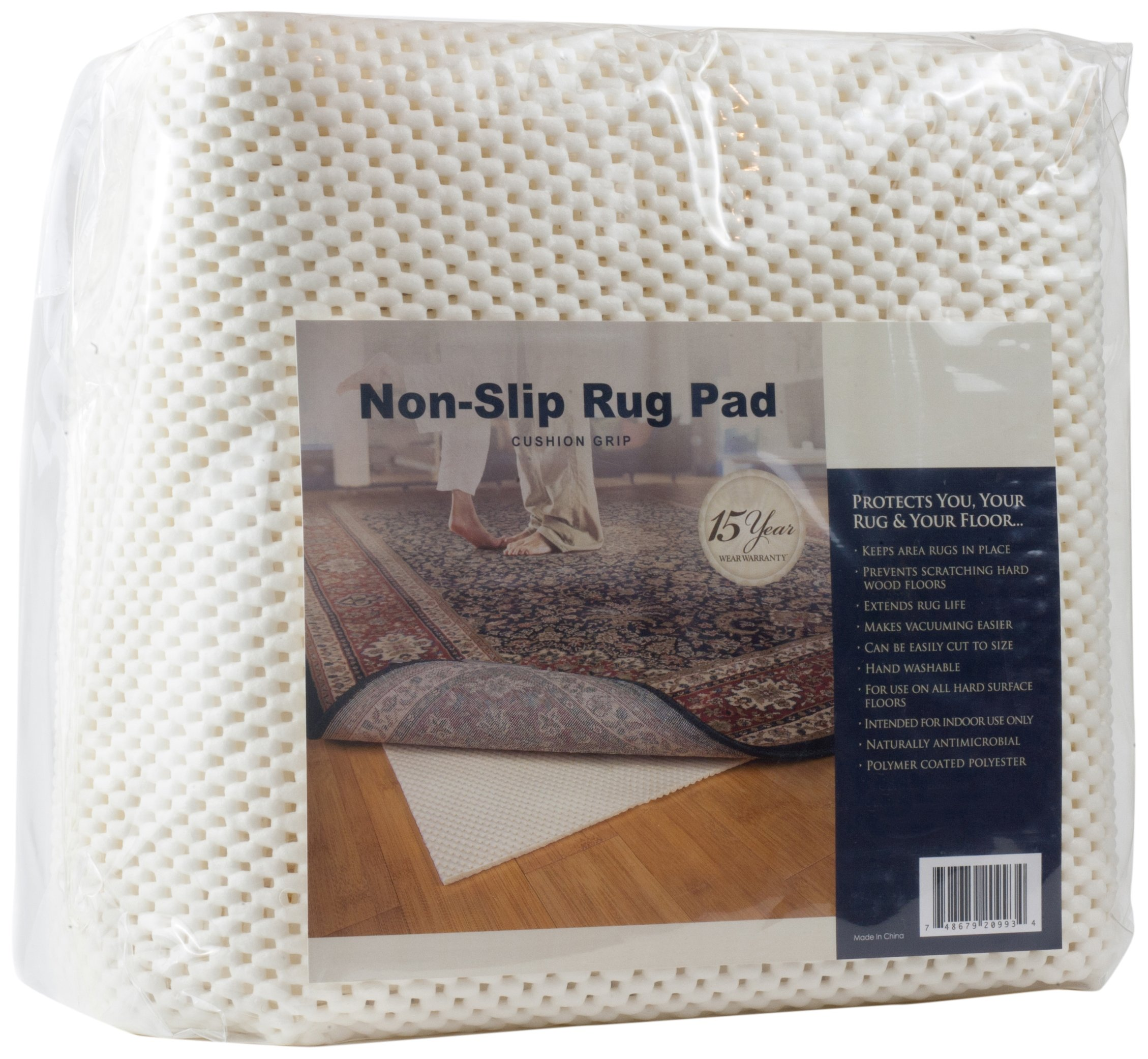 Cushion Grip Non-skid Area Rug Pad For 9-Feet By 12-Feet