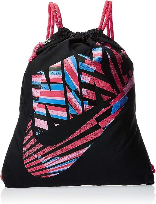 NIKE., Unisex adulto, Bolsa de entrenamiento., BA6010-010, Negro/negro brillante., MISC: Amazon.es: Deportes y aire libre