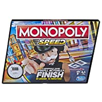 Monopoly Speed Board Game 2-4 Players E7033