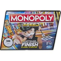 Deals on Monopoly Speed Board Game 2-4 Players E7033
