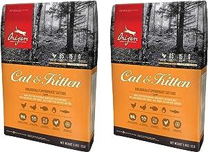 Orijen Cat and Kitten Grain Free Dry Cat Food, 12 oz (2 Pack).