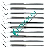 10 Pcs Dental Root Canal Spreader D11 & 2s