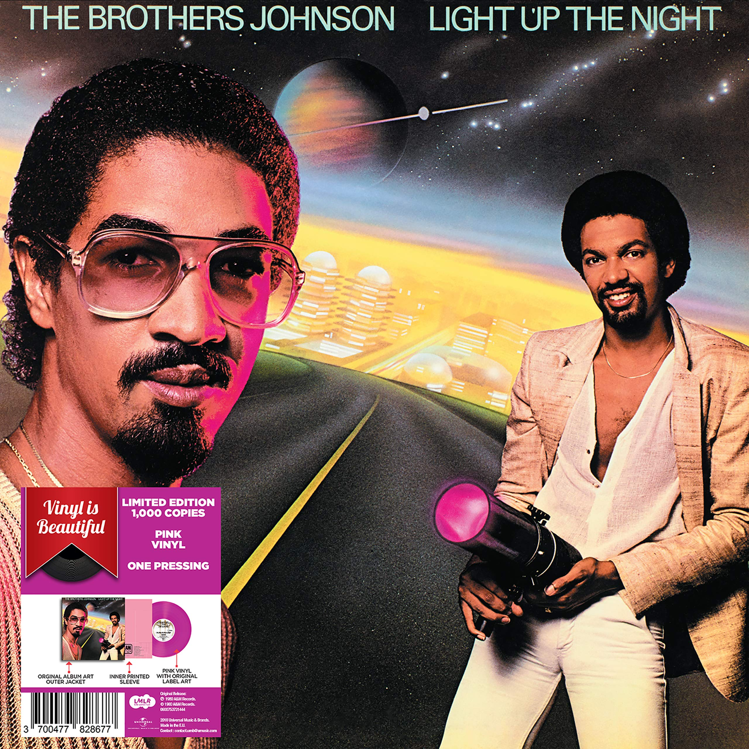 Vinilo : The Brothers Johnson - Light Up The Night (LP Vinyl)