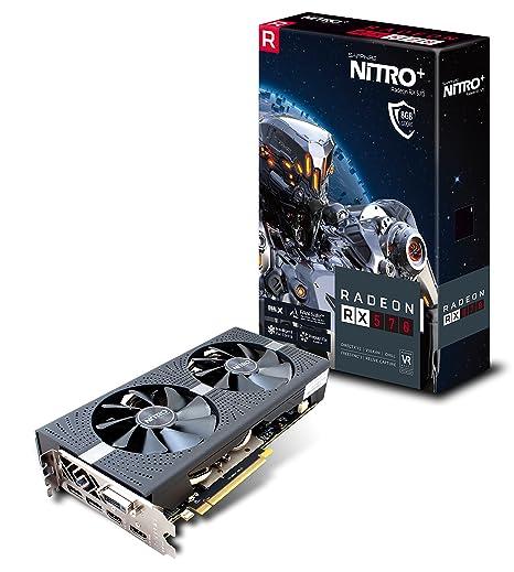 Sapphire Radeon RX 570 8GB GDDR5 Nitro+ Radeon RX 570 8GB GDDR5 ...