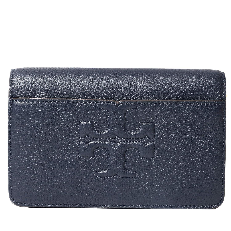 56e43fd390f8 Tory Burch Bombe T Logo Small Leather Cross Body Bag Women's Handbag ...