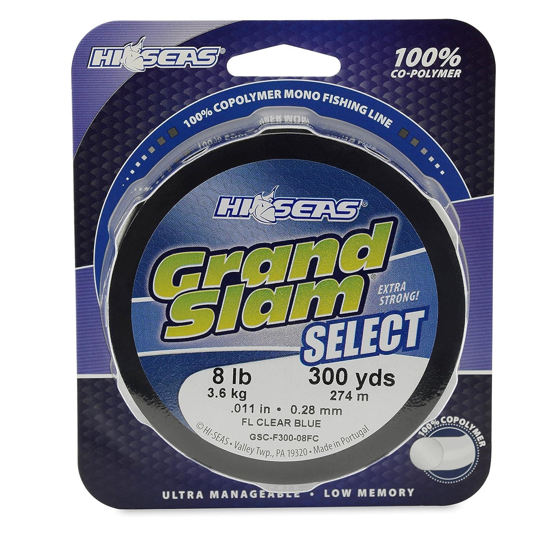 新しい季節 hi-seas Test Grand Slam選択300-yard 100-percent共重合体ライン、蛍光クリアブルー B006GJ8MVS B006GJ8MVS Grand 300-Yard, 10-Pound Test, IKSPIARI ONLINE SHOP:0b5b16fe --- a0267596.xsph.ru