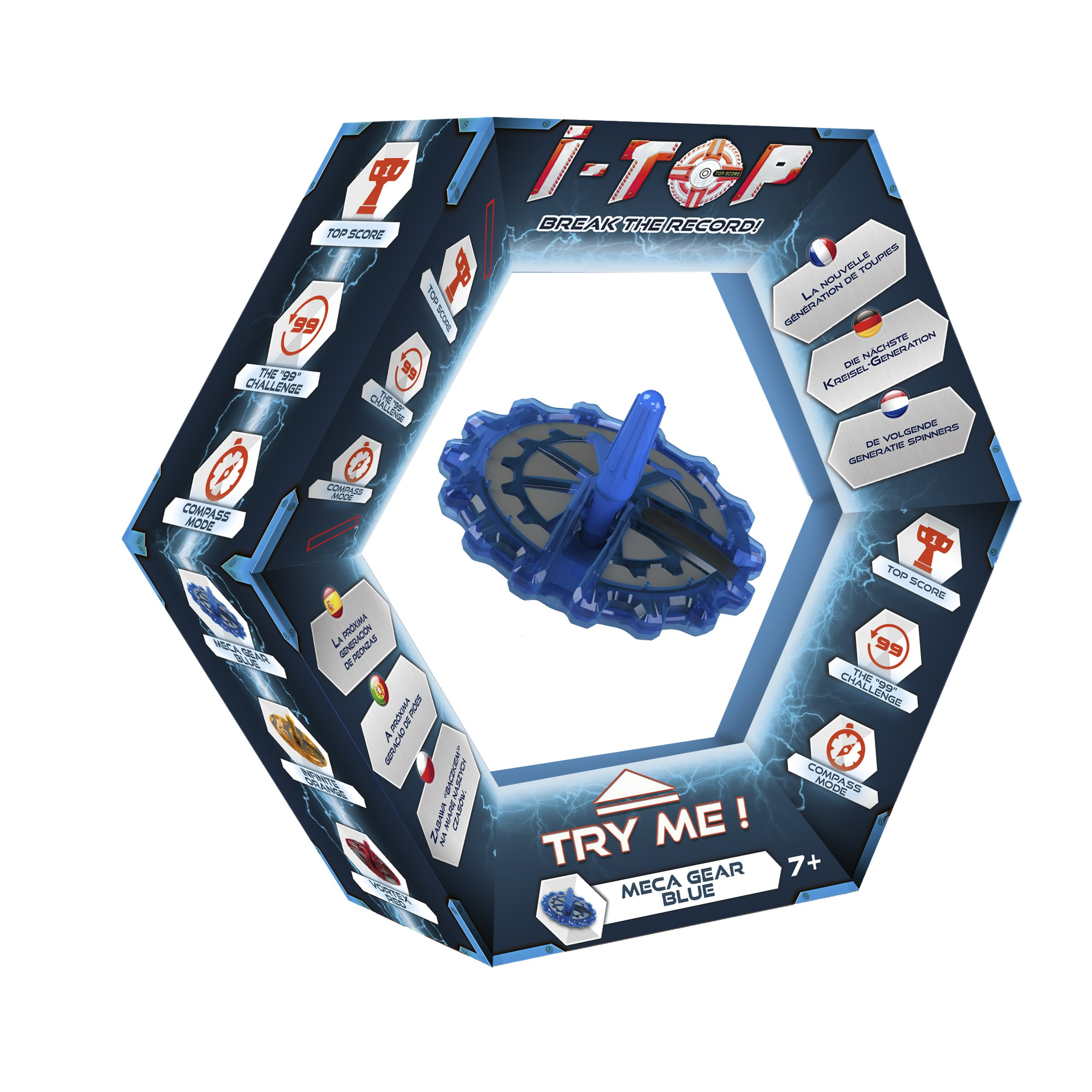 Modelco - ITOP Meca-Gear - Bleue product image