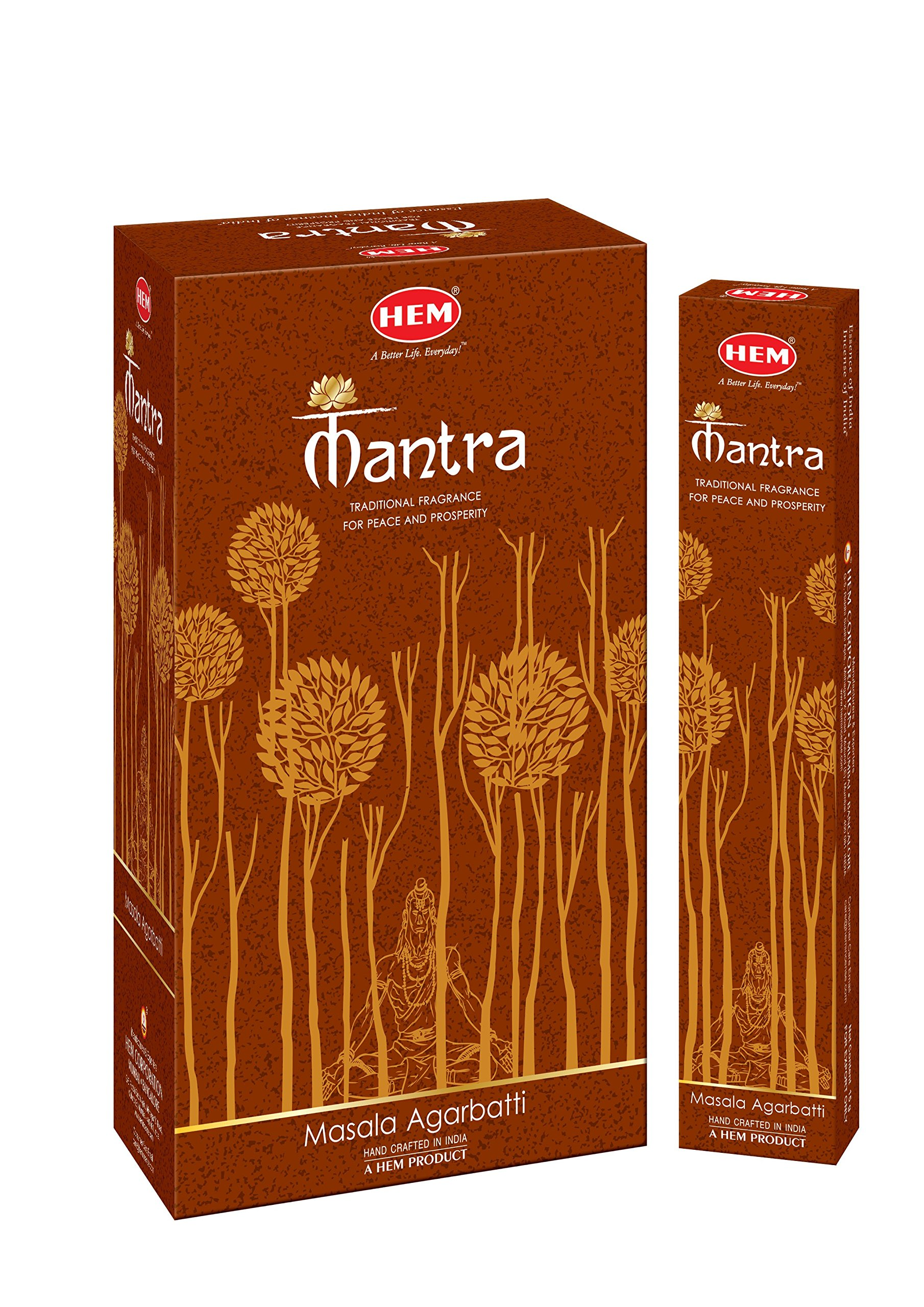 Hem Incense Newly launched Exclusive Fragrance Mantra Masala Agarbatti Sticks (Set of 12 Boxes, 15 Grams Each) by Hem