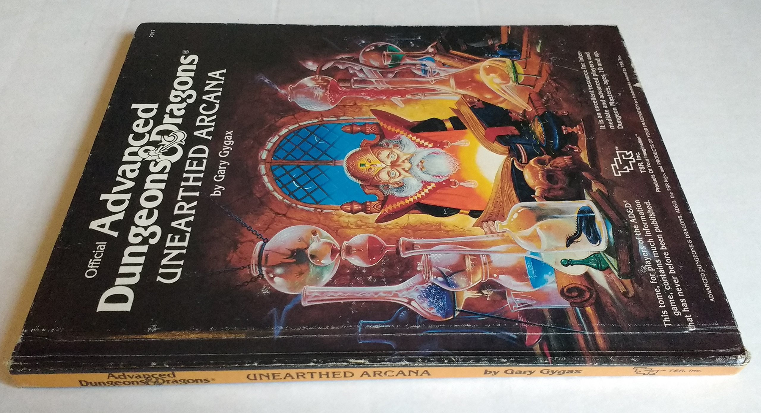 Unearthed Arcana (Official Advanced Dungeons and Dragons