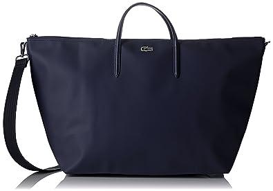 e93e665261 Lacoste L1212 Concept, Sac Bandouliere Femme, Bleu (Eclipse), 36.5 x ...