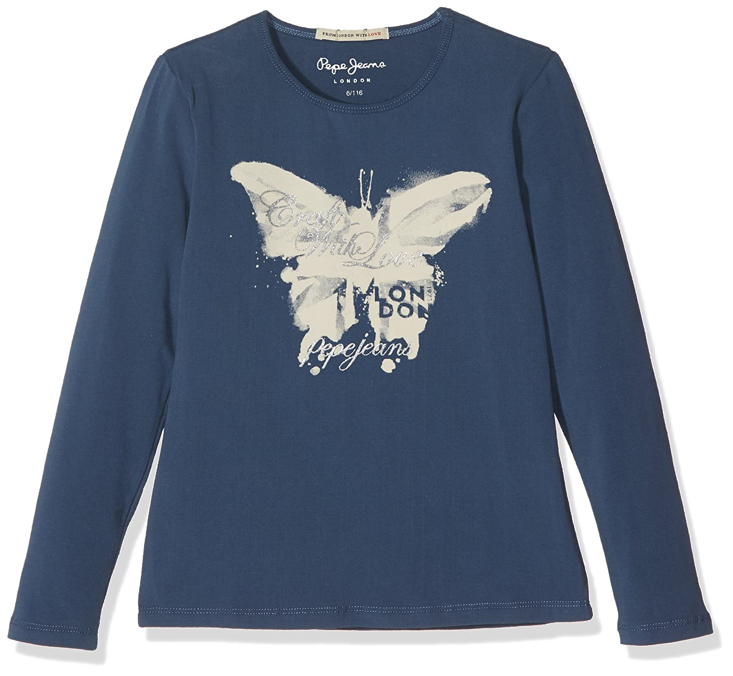 Pepe Jeans Girls Long Sleeve Top