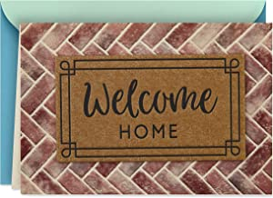 Hallmark Housewarming Card (Welcome Home Doormat)