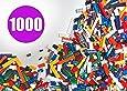 Building Bricks - Regular Colors - 1,000 Pieces Classic Bricks - Compatible with all Major Brands