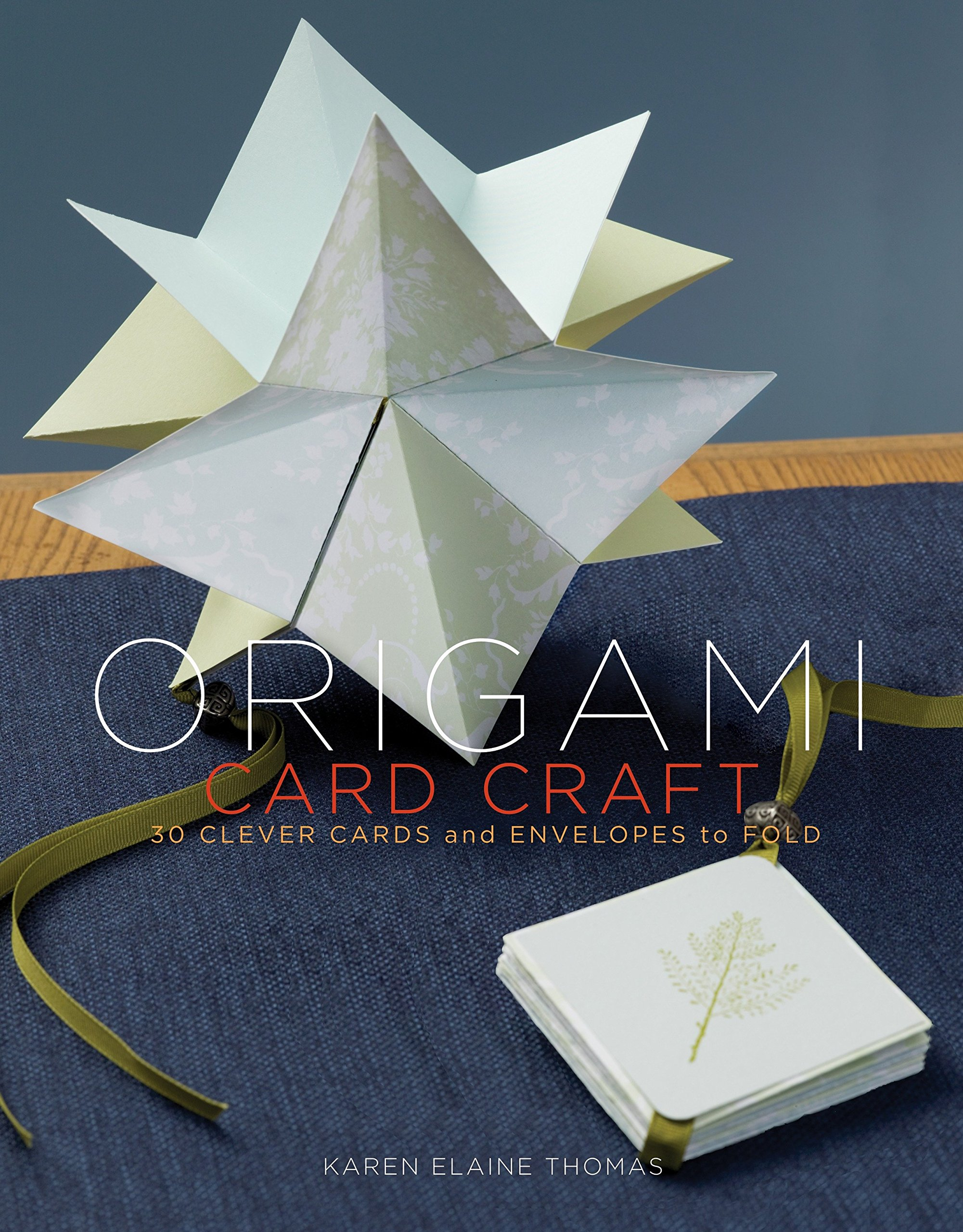 Origami Card Craft 30 Clever Cards And Envelopes To Fold Karen 3d Animation Diagrams Animated Diagram A Elaine Thomas 9780307408402 Books