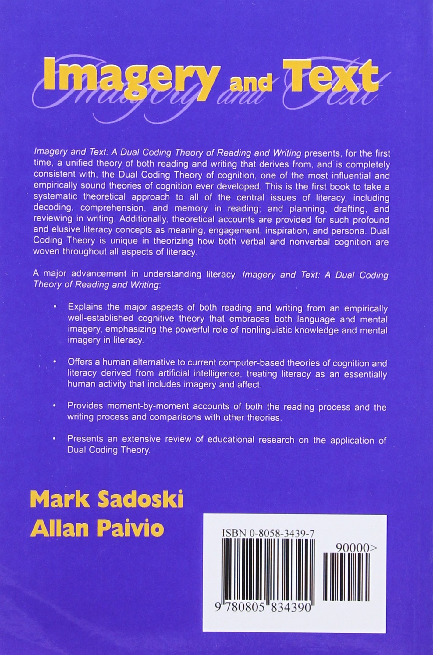 Guide Imagery and Text: A Dual Coding Theory of Reading and