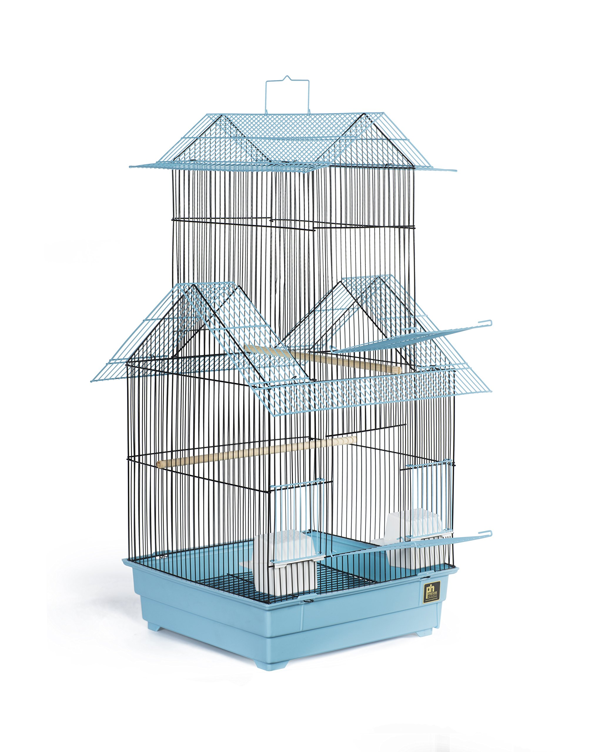 Prevue Pet Products Beijing Bird Cage, Blue and Black